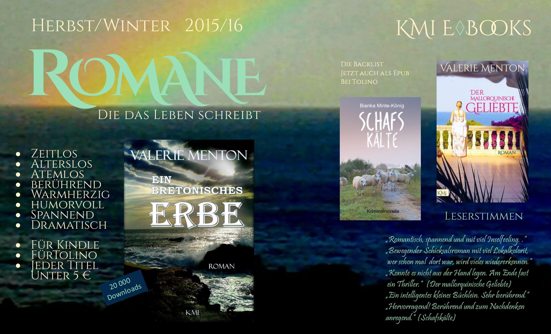 Vorschau Romane Backlist 2 Meer