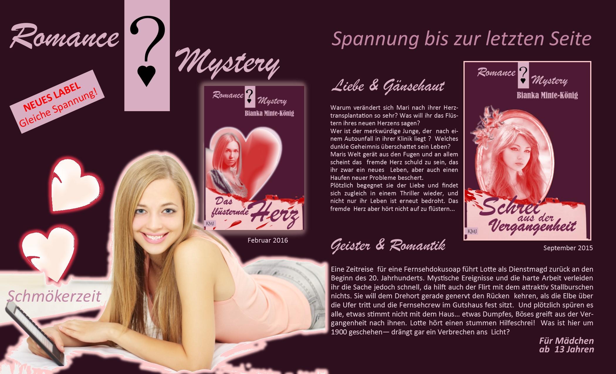 Buchseite Liebe & Geheimnis Herbst 2015  Homepage Texte
