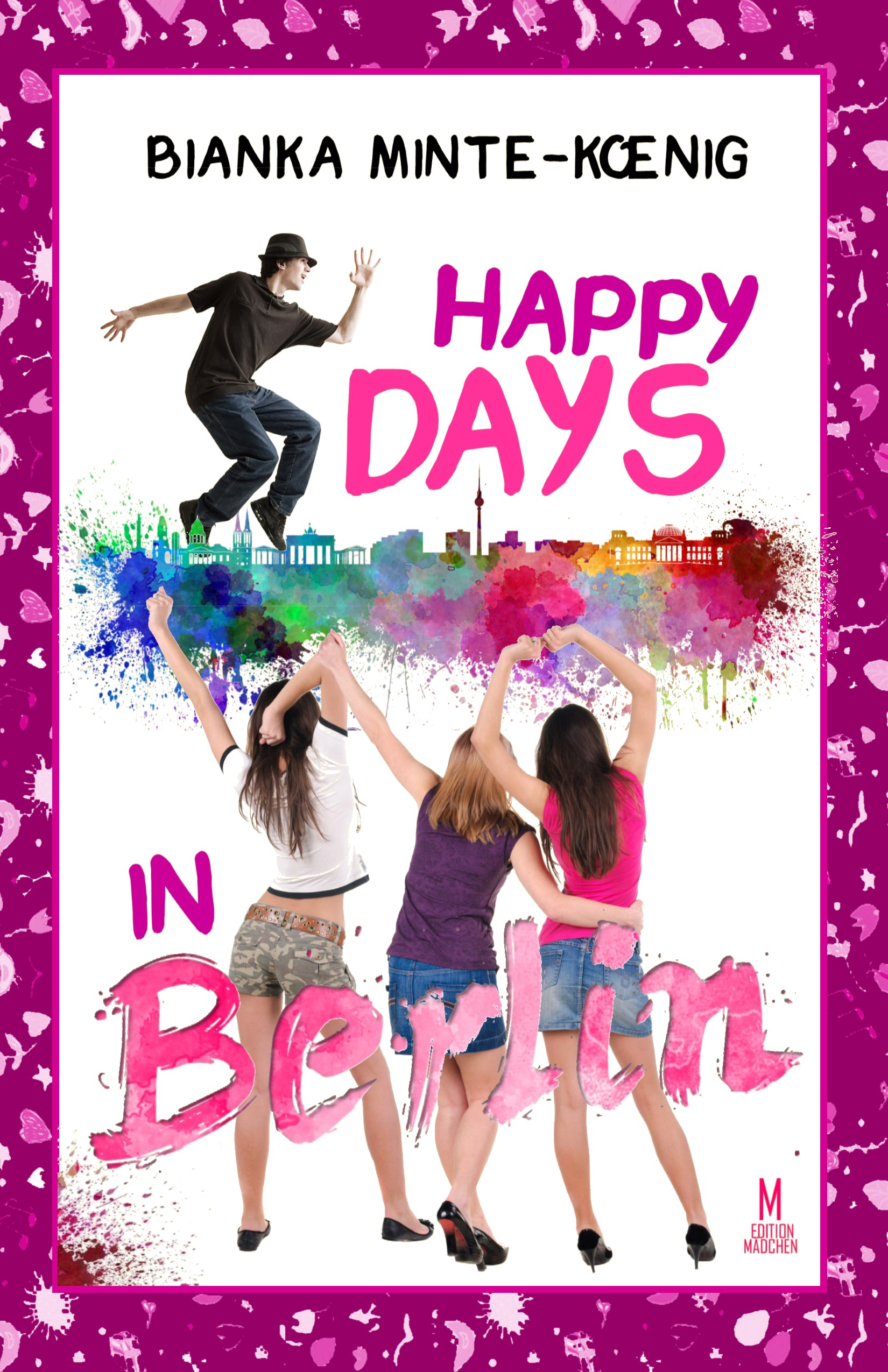 Happy Days in Berlin Cover NEU coloriert Version Party